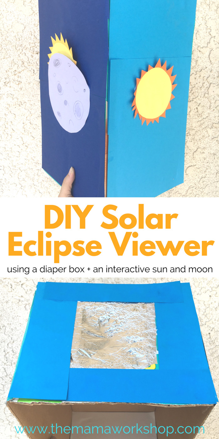 Best ideas about Solar Eclipse Viewer DIY . Save or Pin DIY Solar Eclipse Viewer for Kids Now.