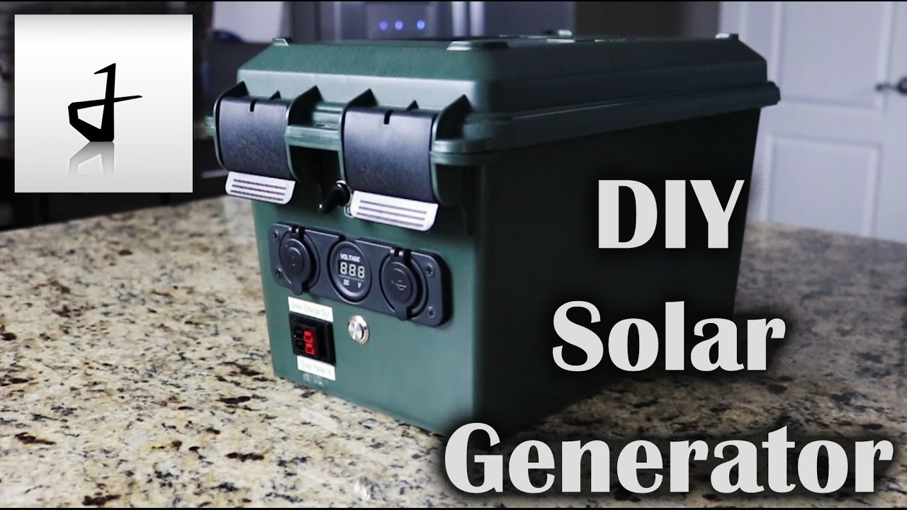 Best ideas about Solar Generator DIY . Save or Pin DIY Portable Solar Generator Now.