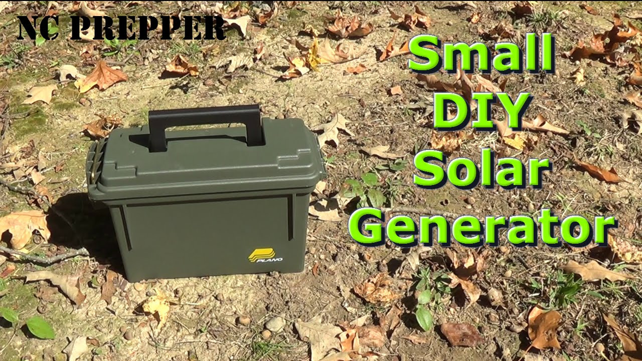 Best ideas about Solar Generator DIY . Save or Pin Small DIY Portable Solar Generator Now.