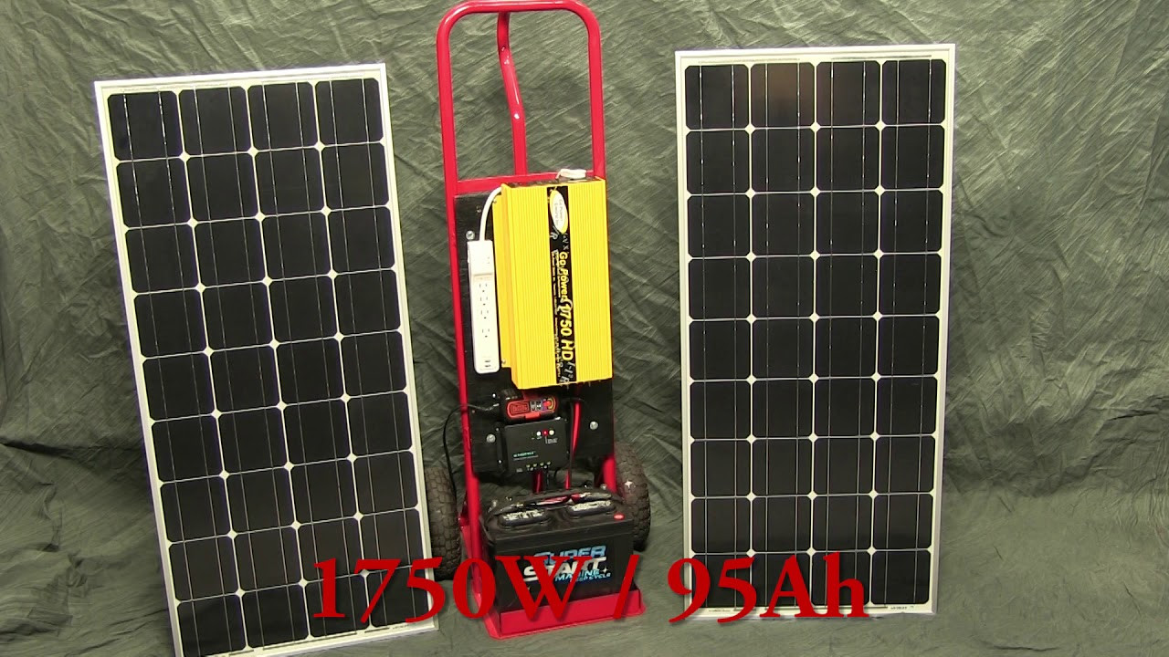 Best ideas about Solar Generator DIY . Save or Pin DIY f Grid Solar Generator rev 1 – Low Cost Portable Now.