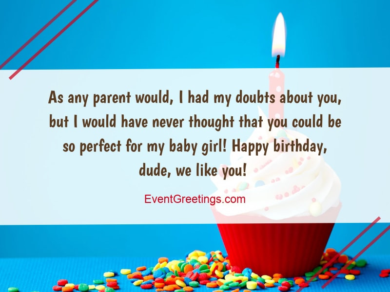 Best ideas about Son In Law Birthday Wishes . Save or Pin Birthday Wishes For Son In Law Perfect Gesture to Show Love Now.