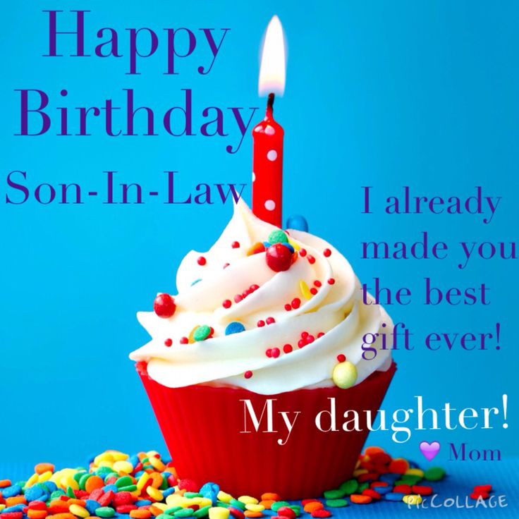 Best ideas about Son In Law Birthday Wishes . Save or Pin Happy Birthday to the best son in law Humor Now.