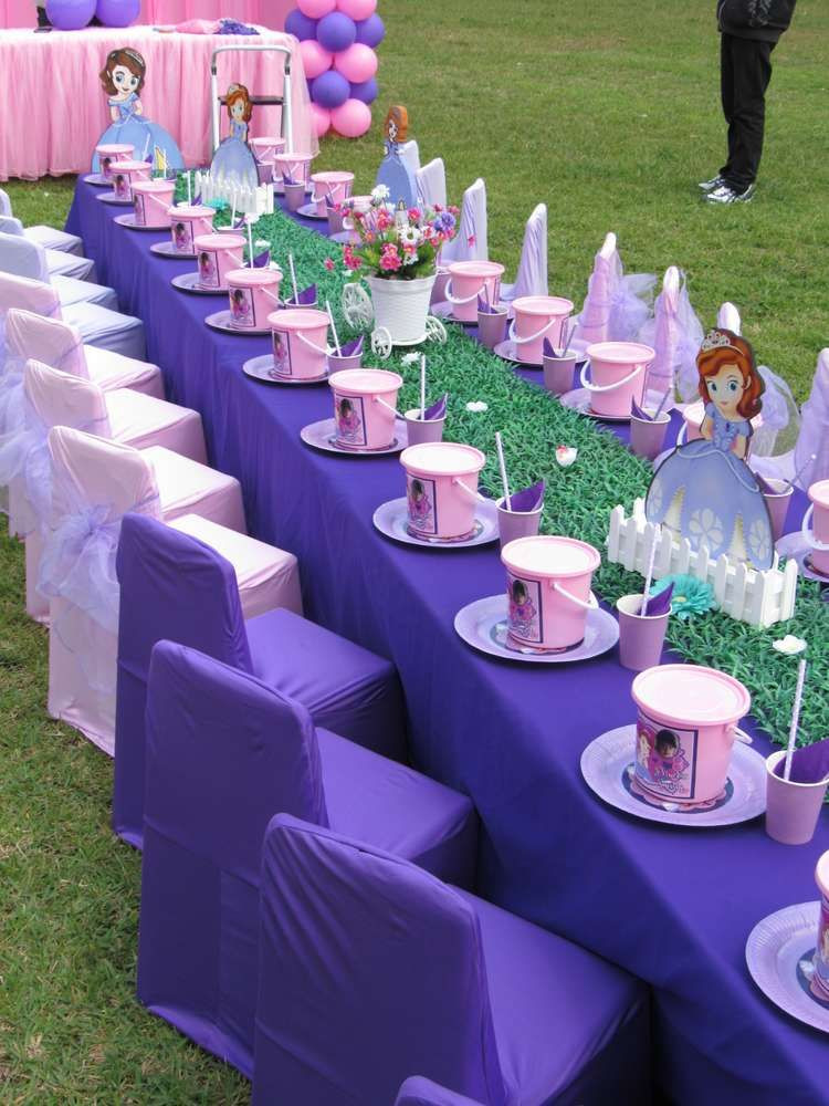 Best ideas about Sophia The First Birthday Decorations . Save or Pin Princess Sofia Birthday Party Ideas in 2019 Now.