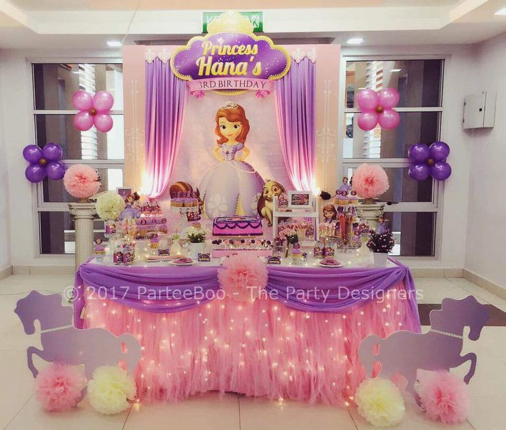 Best ideas about Sophia The First Birthday Decorations . Save or Pin 25 best ideas about Princess sofia on Pinterest Now.