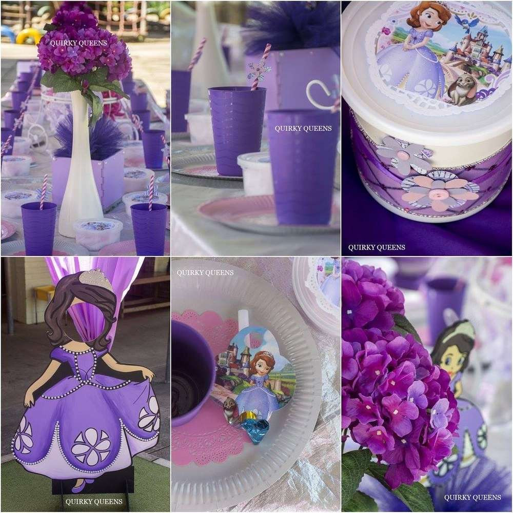 Best ideas about Sophia The First Birthday Decorations . Save or Pin Sophia the 1st Birthday Party Ideas Now.