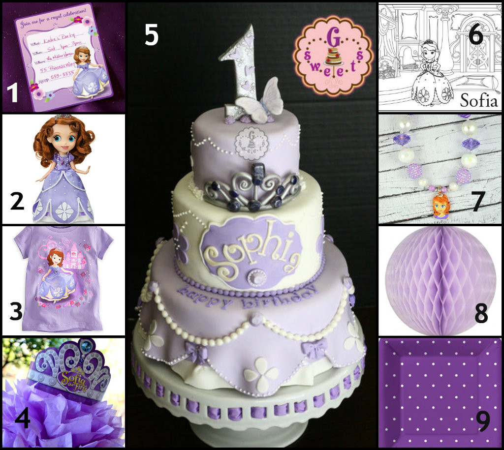 Best ideas about Sophia The First Birthday Decorations . Save or Pin Sofia the First Party Ideas – A to Zebra Celebrations Now.