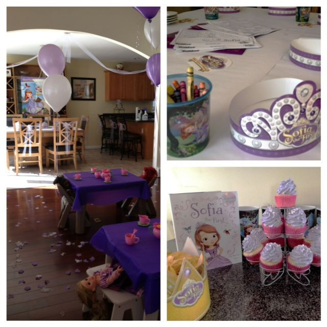 Best ideas about Sophia The First Birthday Decorations . Save or Pin sophia the first party ideas Sophia the first Now.