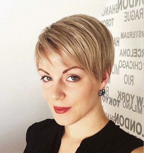 Best ideas about Sophisticated Short Haircuts . Save or Pin 15 Stylish Hairstyles with Side Bangs Now.
