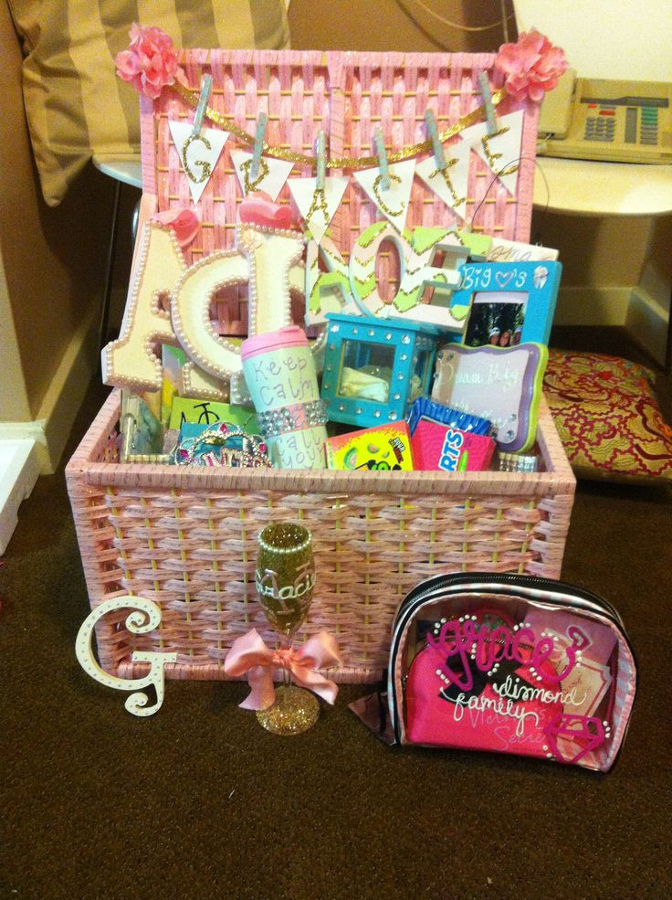 Best ideas about Sorority Gift Ideas . Save or Pin Big Little 101 A Guide to Crafting Gifting and Now.