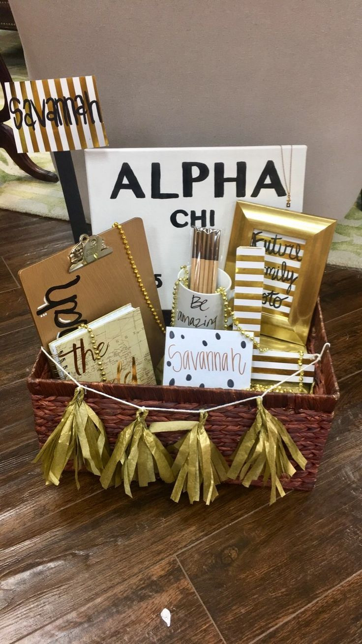 Best ideas about Sorority Gift Ideas . Save or Pin 17 Best ideas about Big Little Gifts on Pinterest Now.