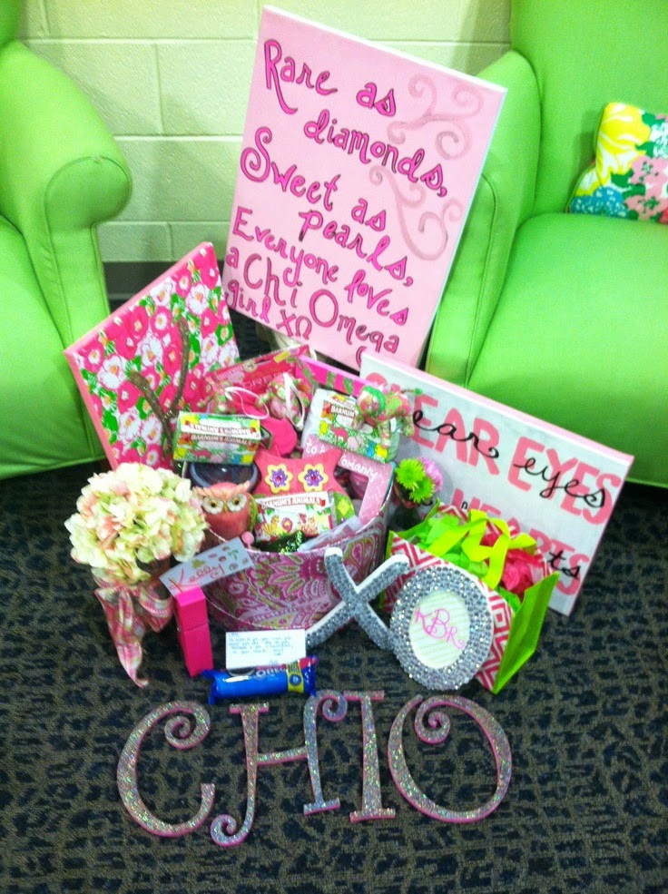 Best ideas about Sorority Gift Ideas . Save or Pin Bows Pearls & Sorority Girls Big Little Gift Giving Now.