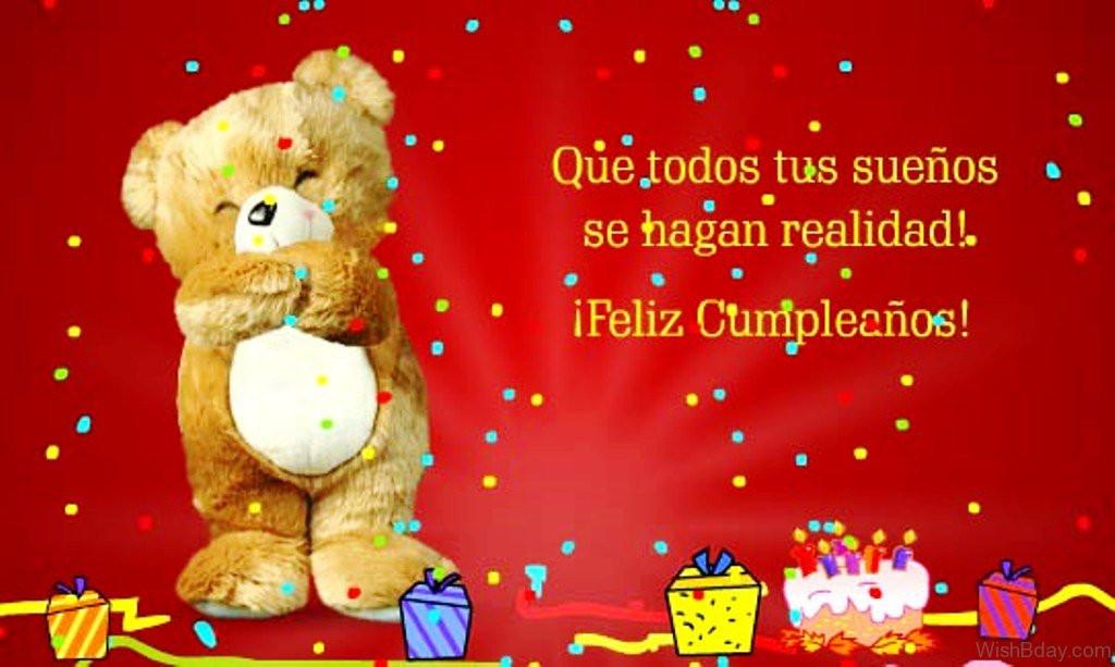 Best ideas about Spanish Birthday Wishes . Save or Pin 10 Birthday Wishes In Spanish Now.