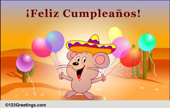 Best ideas about Spanish Birthday Wishes . Save or Pin Happy Birthday Wish In Spanish Free Specials eCards Now.