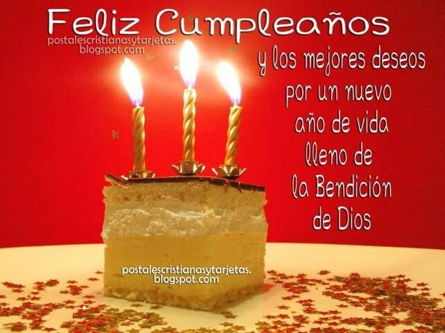 Best ideas about Spanish Birthday Wishes . Save or Pin Spanish BIRTHDAY CUMPLEANOS Pinterest Now.