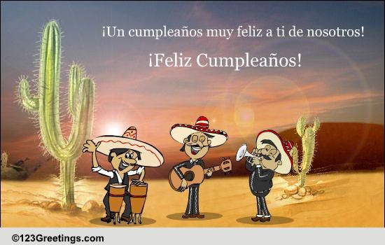 Best ideas about Spanish Birthday Wishes . Save or Pin A Cool Spanish Birthday Wish Free Specials eCards Now.