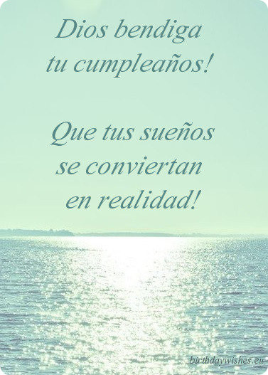 Best ideas about Spanish Birthday Wishes . Save or Pin Happy Birthday Wishes In Spanish Now.
