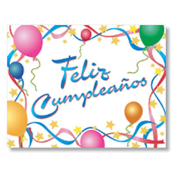 Best ideas about Spanish Birthday Wishes . Save or Pin Happy Birthday Feliz Cumpleanos Spanish Birthday Card Now.