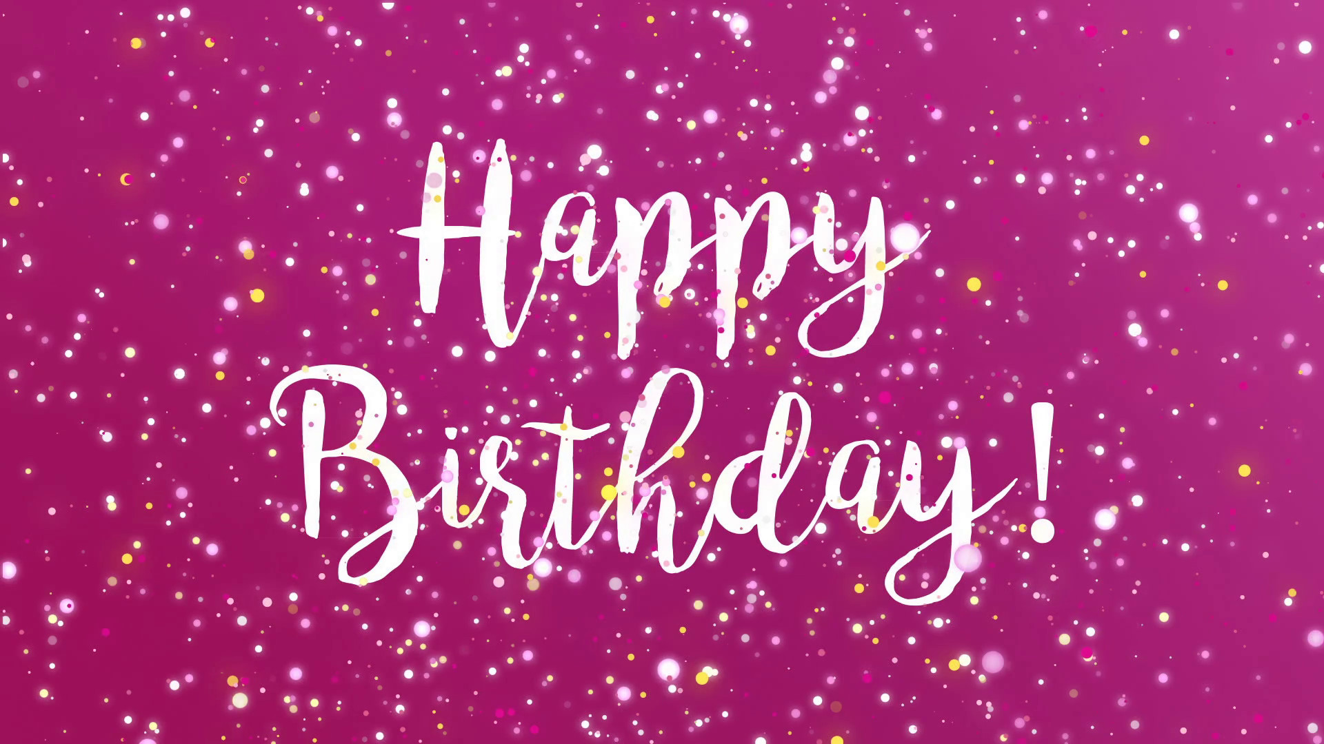 Best ideas about Sparkly Birthday Wishes . Save or Pin Sparkly Happy Birthday greeting card video animation with Now.