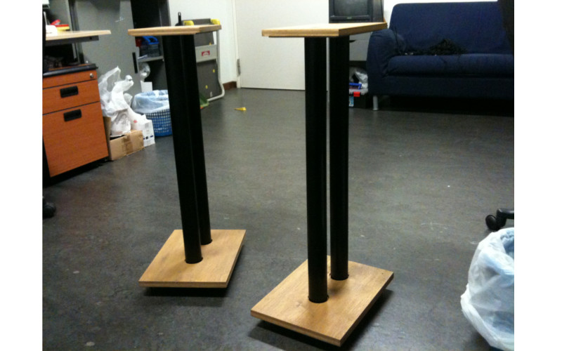 Best ideas about Speaker Stands DIY . Save or Pin DIY Sand Loaded Speaker Stands Part 1 Now.