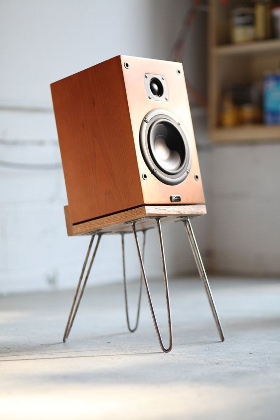 Best ideas about Speaker Stands DIY . Save or Pin 8 Great DIY Speaker Stand Ideas that Easy to Make Now.