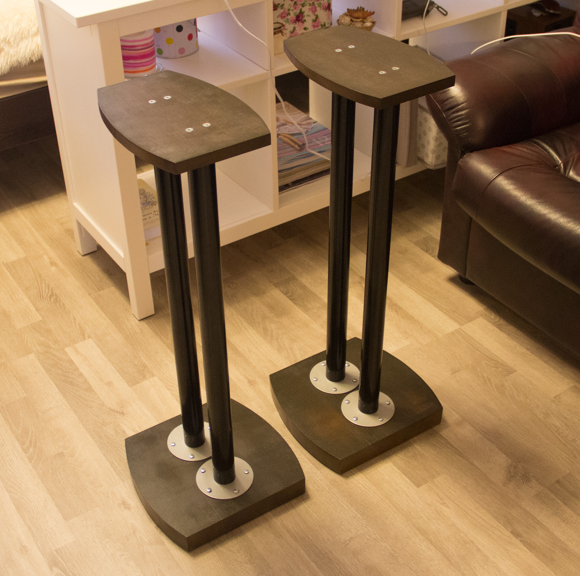 Best ideas about Speaker Stands DIY . Save or Pin Beginner Bud Audiophile – Wharfedale Diamond 10 1 and Now.