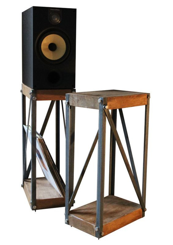 Best ideas about Speaker Stands DIY . Save or Pin Mount Your Speakers in Style With diy speaker stands Now.