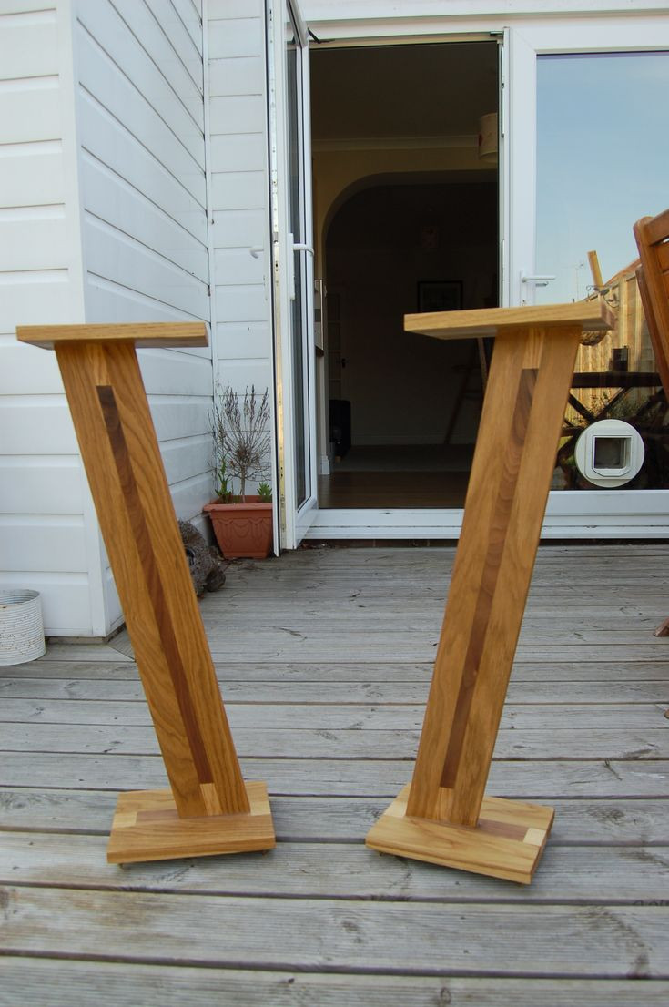 Best ideas about Speaker Stands DIY . Save or Pin 25 Best Ideas about Speaker Stands on Pinterest Now.