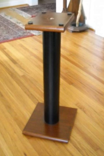 Best ideas about Speaker Stands DIY . Save or Pin N2x DIY speaker stands Now.