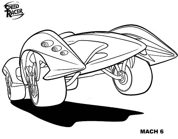 Best ideas about Speed Racer Free Coloring Pages . Save or Pin Maximum Speed in Speed Racer Coloring Pages Now.