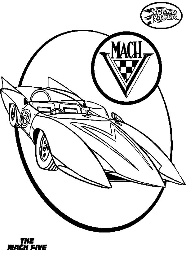 Best ideas about Speed Racer Free Coloring Pages . Save or Pin How to Draw Speed Racer Coloring Pages How to Draw Speed Now.