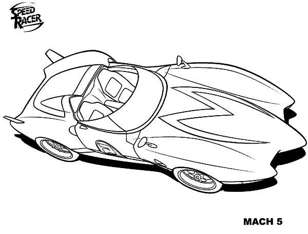 Best ideas about Speed Racer Free Coloring Pages . Save or Pin Speed Racer Coloring Pages Adult Coloring Pages Now.