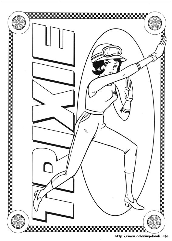 Best ideas about Speed Racer Free Coloring Pages . Save or Pin Speed Racer Coloring Pages Coloring Home Now.