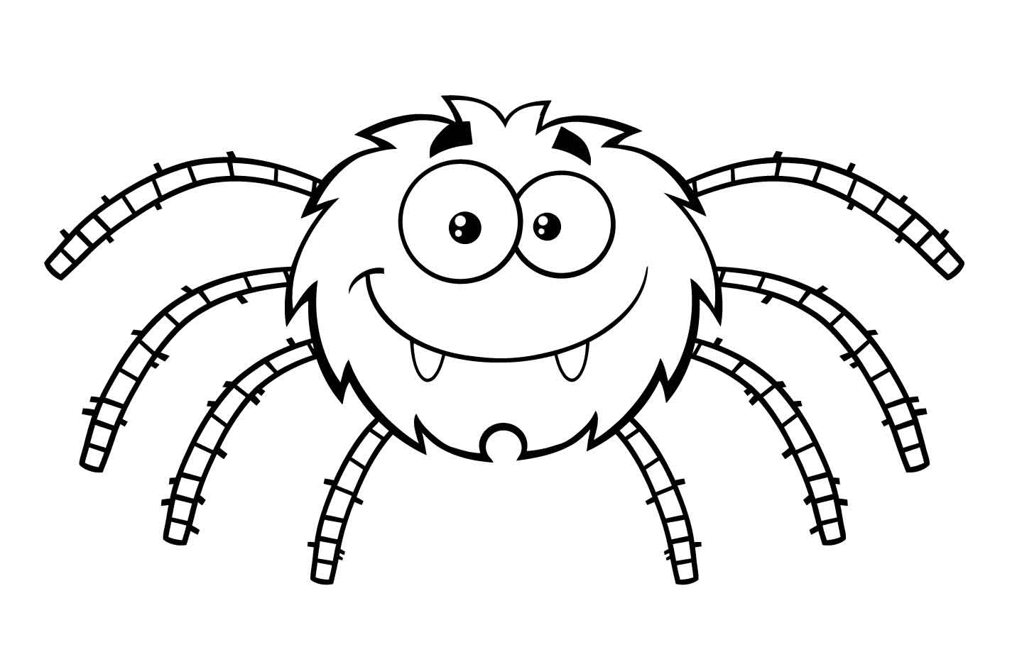 Best ideas about Spider Printable Coloring Pages . Save or Pin Free Printable Spider Coloring Pages For Kids Now.