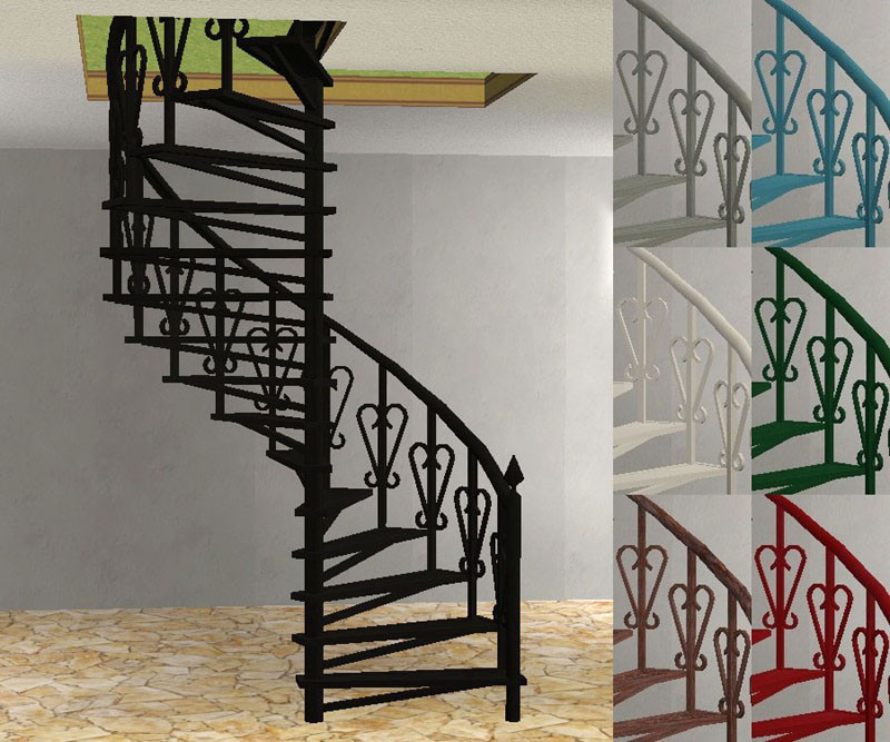 Best ideas about Spiral Staircase Sims 4 . Save or Pin Mod The Sims Torrox Spanish Southwestern Build Set Part Now.