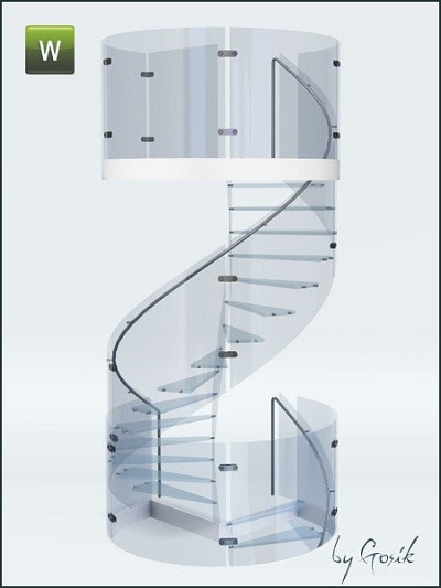 Best ideas about Spiral Staircase Sims 4 . Save or Pin My Sims 3 Blog Glass Spiral Staircase by Gosik Now.
