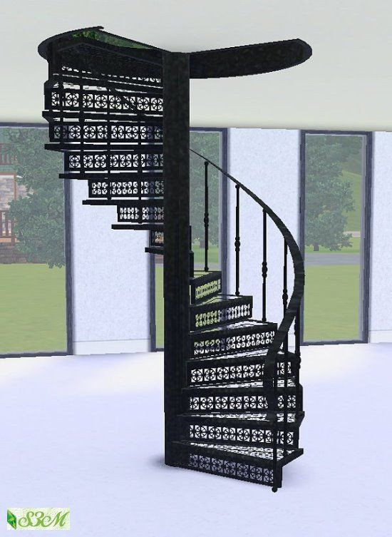Best ideas about Spiral Staircase Sims 4 . Save or Pin Forged steel spiral staircase by Simmami at Sims 3 Now.