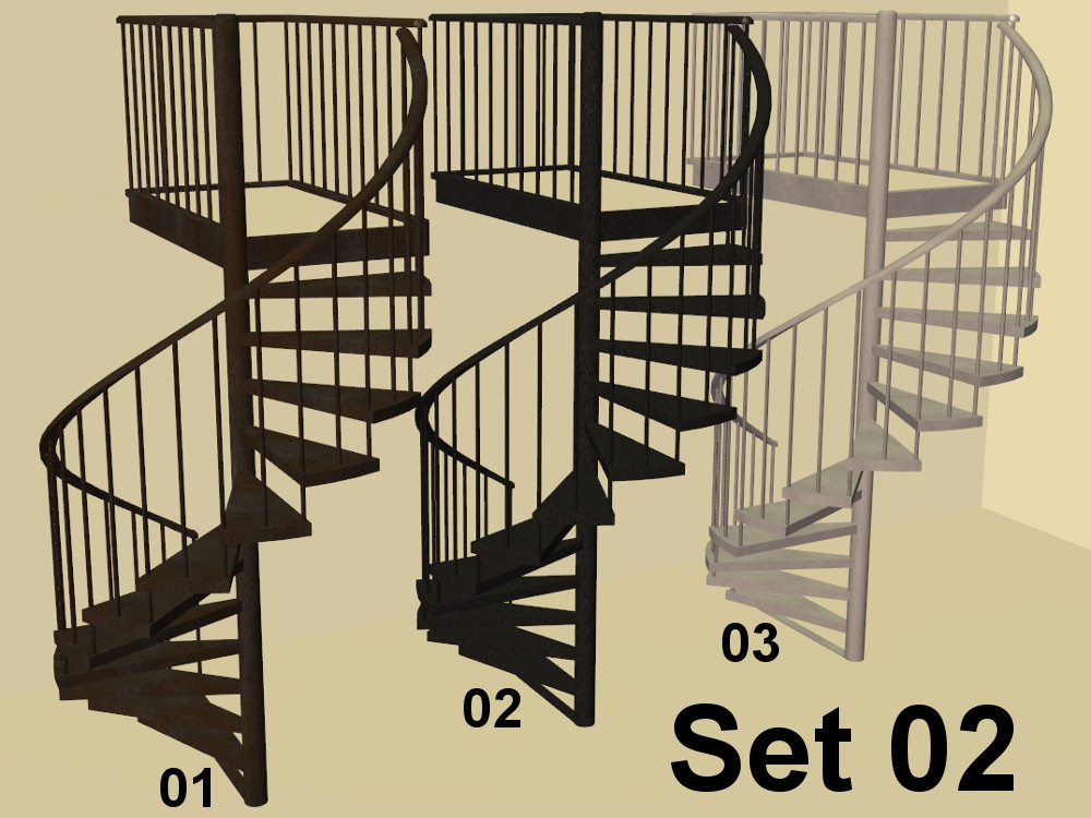 Best ideas about Spiral Staircase Sims 4 . Save or Pin Mod The Sims marvine s Simple Spiral Stairs in Metal Now.