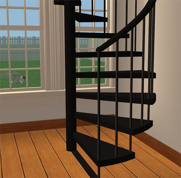 Best ideas about Spiral Staircase Sims 4 . Save or Pin Mod The Sims Recolors of Marvine s animated spiral stairs Now.