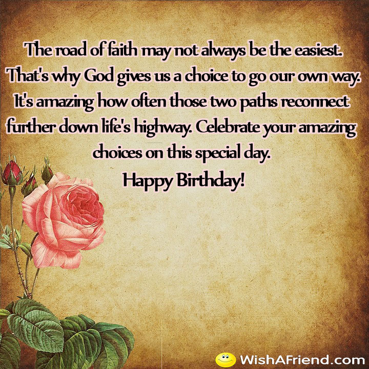Best ideas about Spiritual Birthday Quotes . Save or Pin Religious Birthday Quotes Now.
