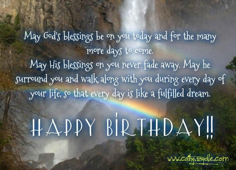 Best ideas about Spiritual Birthday Quotes . Save or Pin Christian Birthday Wishes on Pinterest Now.