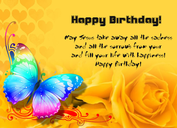 Best ideas about Spiritual Birthday Wishes . Save or Pin Christian Birthday Wishes Religious Birthday Wishes Now.