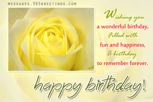Best ideas about Spiritual Birthday Wishes . Save or Pin Birthday Wishes And Messages 365greetings Now.