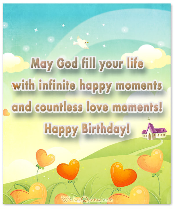 Best ideas about Spiritual Birthday Wishes . Save or Pin Religious Birthday Wishes and Card Messages – WishesQuotes Now.