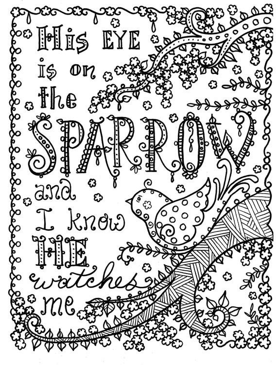 Best ideas about Spiritual Coloring Pages For Adults . Save or Pin Hymn spiration 4 coloring pages Instant Dowload Art to Color Now.