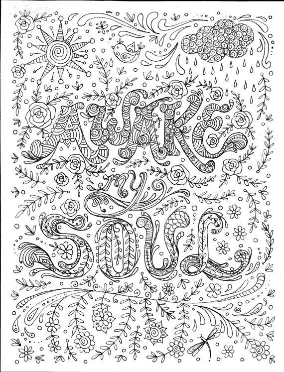 Best ideas about Spiritual Coloring Pages For Adults . Save or Pin 82 best images about coloring on Pinterest Now.