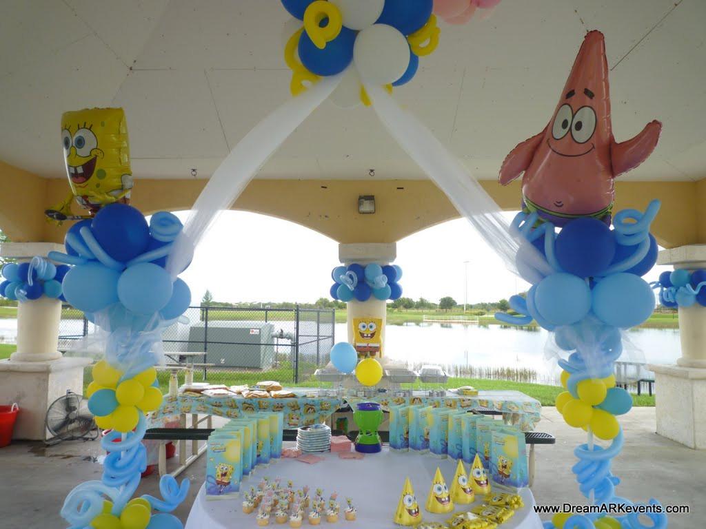 Best ideas about Spongebob Birthday Decorations . Save or Pin DreamARK Events Blog SpongeBob Theme Birthday Decor Now.