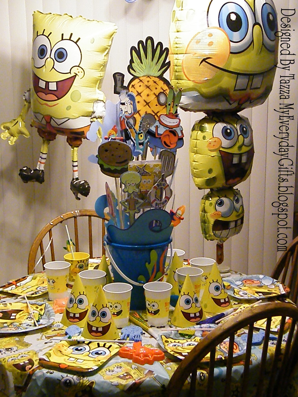 Best ideas about Spongebob Birthday Decorations . Save or Pin My Everyday Gifts Spongebob Birthday Party Cricut Now.