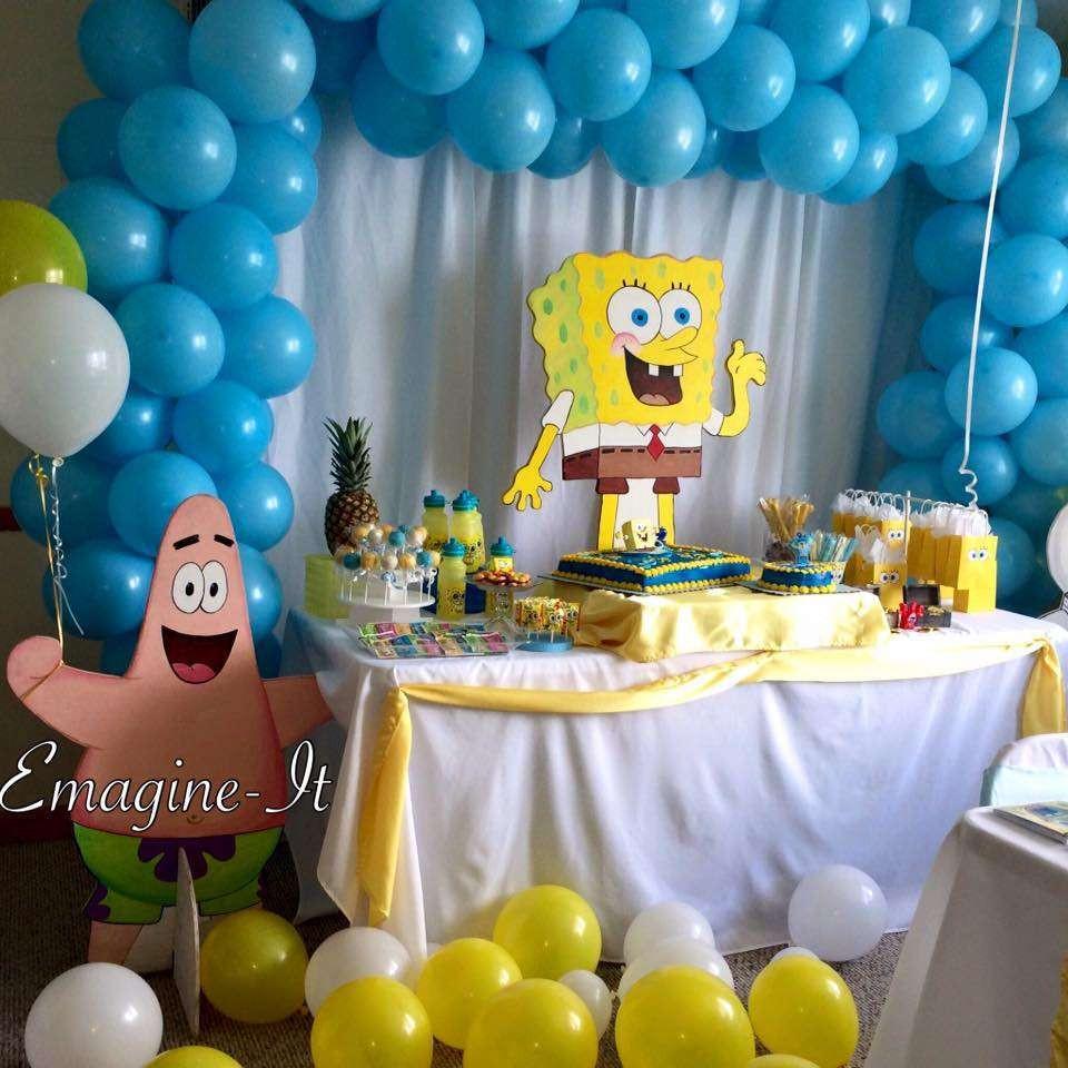 Best ideas about Spongebob Birthday Decorations . Save or Pin Spongebob Birthday Party Ideas 1 of 4 Now.