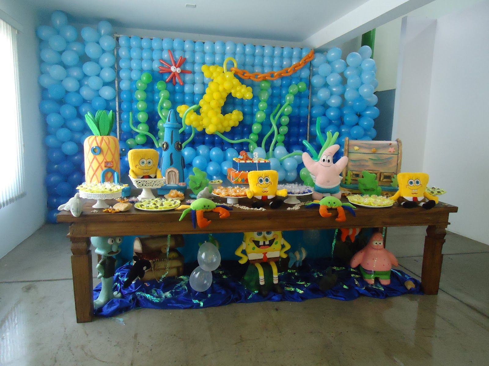 Best ideas about Spongebob Birthday Decorations . Save or Pin Spongebob party ballons Now.