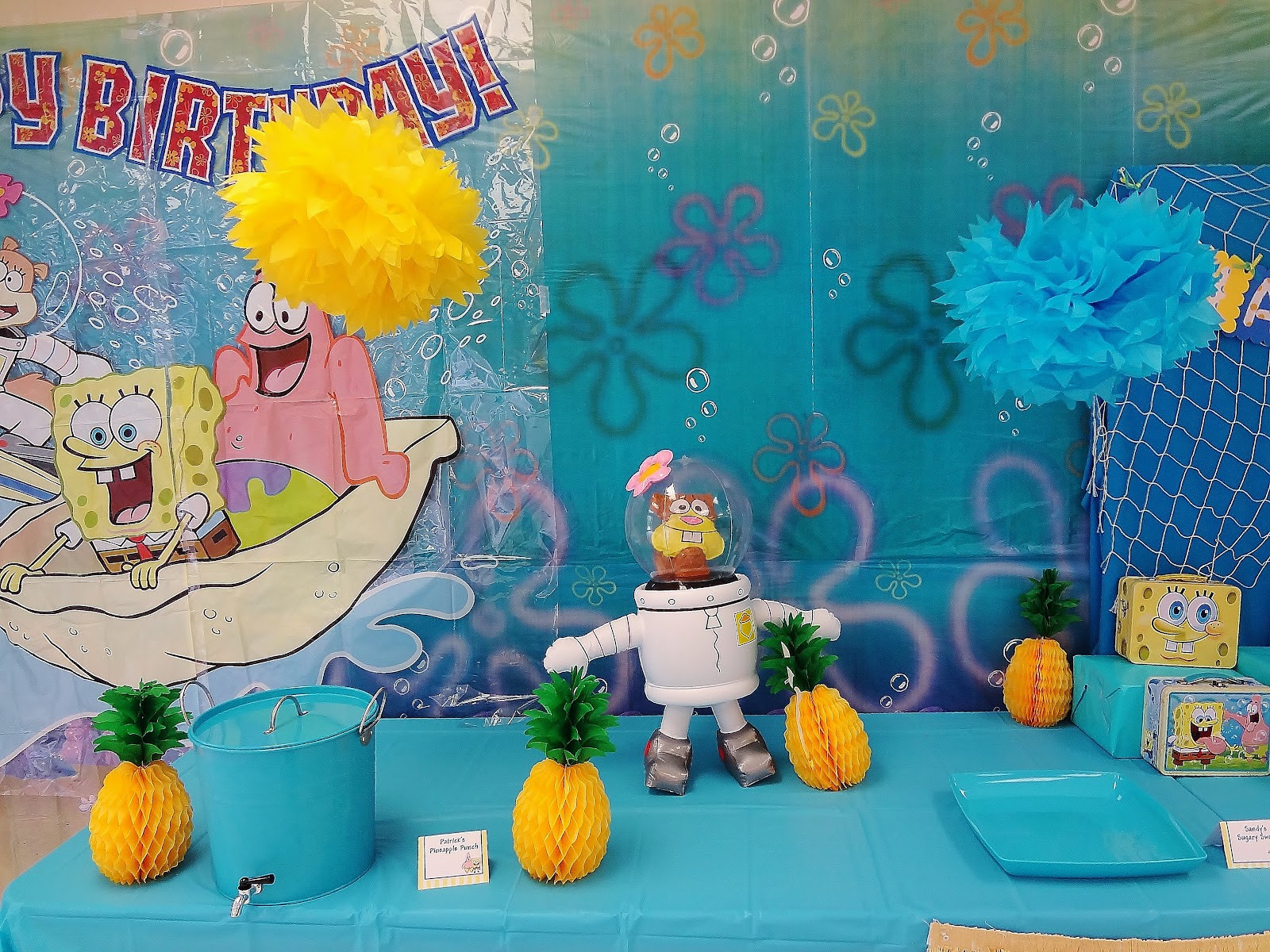 Best ideas about Spongebob Birthday Decorations . Save or Pin Karo s Fun Land Party Feature SpongeBob Birthday Party Now.